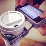 UpperCup: iPhone Case mit Kaffeehalter
