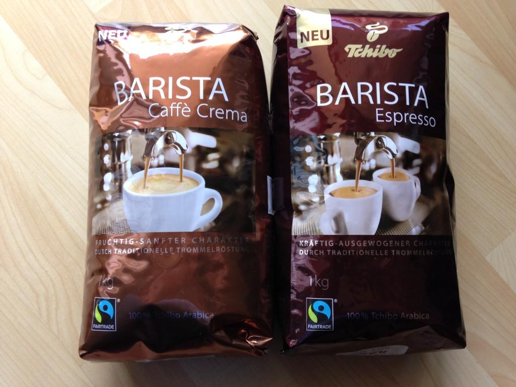 Tchibo Barista Espresso & Caffè Crema