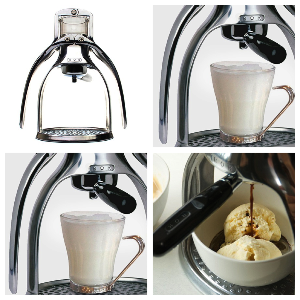 ROK Espressomaschinen-Set