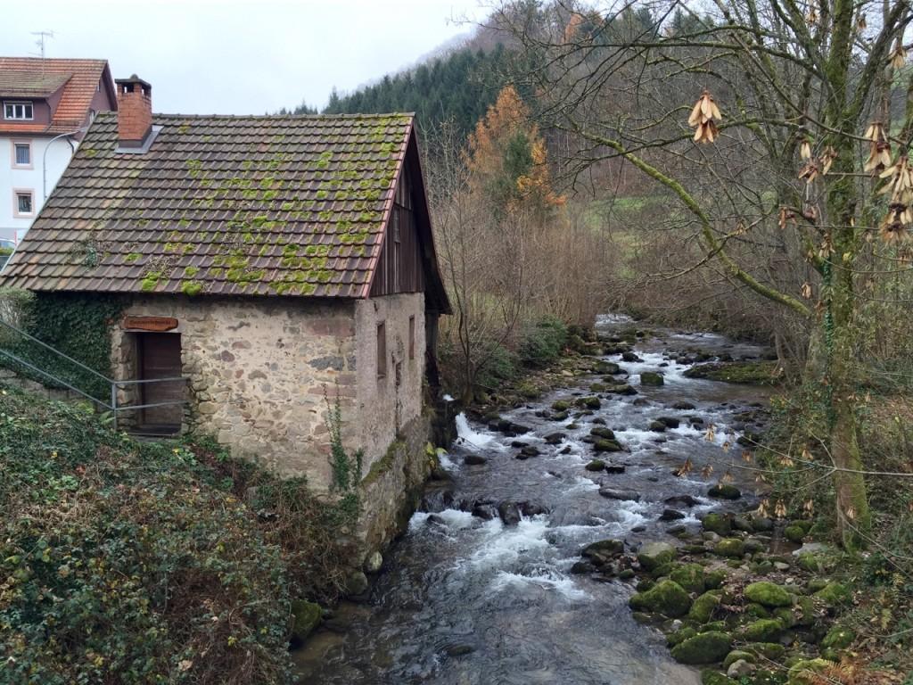 Mühlenweg in Ottenhöfen, Schwarzwald