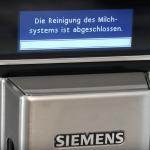 Siemens EQ.6 - Milchsystem reinigen mit Milk Clean - 2