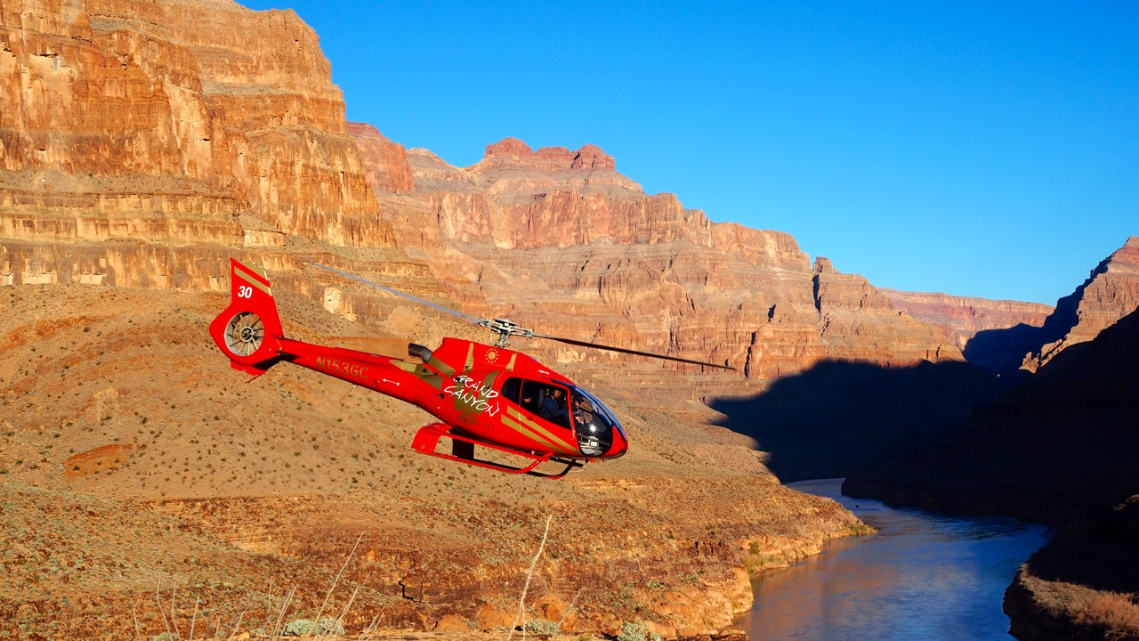 Hubschrauber Grand Canyon