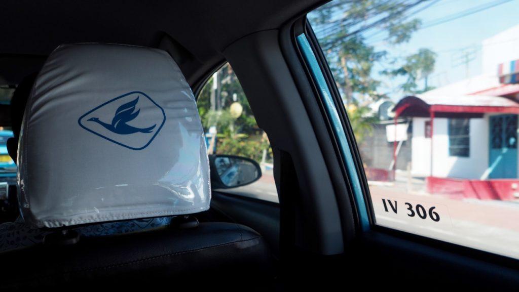 Bluebird Taxi auf Bali