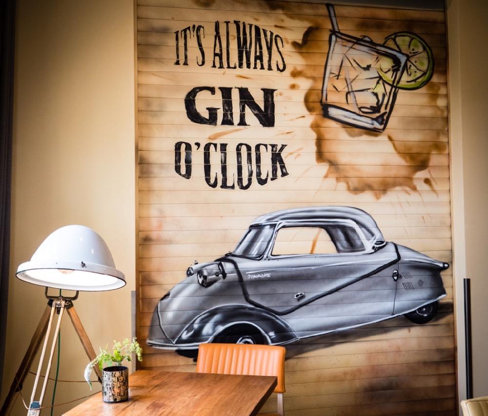 Gin im Hotel FREIgeist Einbeck PS.SPEICHER