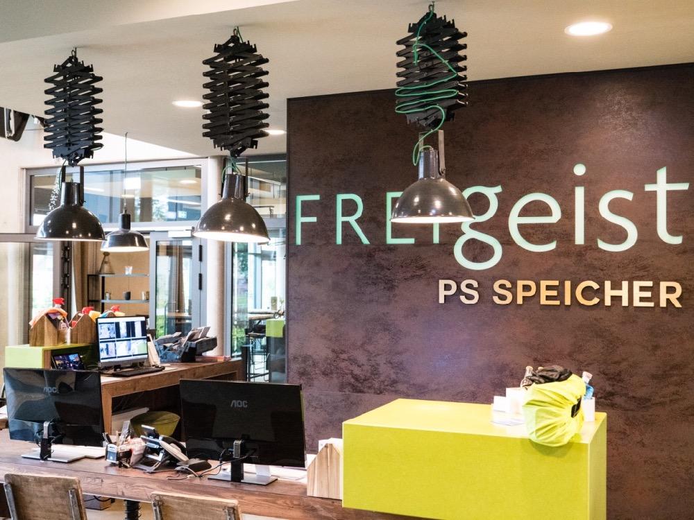 Der Empfang im Hotel FREIgeist Einbeck PS.SPEICHER
